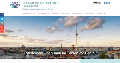 Kadampa Meditations Zentrum Berlin Meditation Moderner Buddhismus